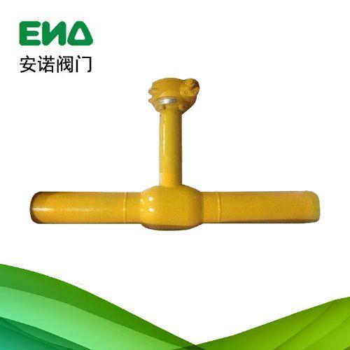 长体型埋地式热力球阀 焊接球阀 天然气管线球阀