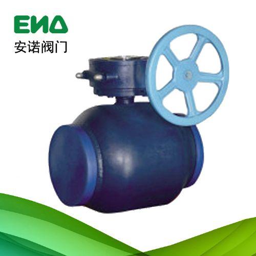 蜗轮式全焊接球阀 手动焊接球阀 焊接球阀