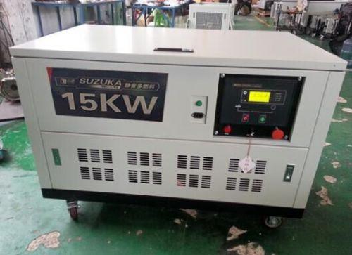 广州15KW静音燃气发电机