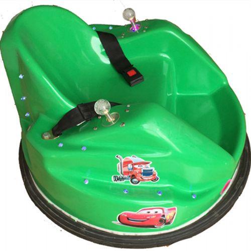 飞碟电动碰碰车广场双人游乐设备游乐场儿童玩具电瓶车2015新款