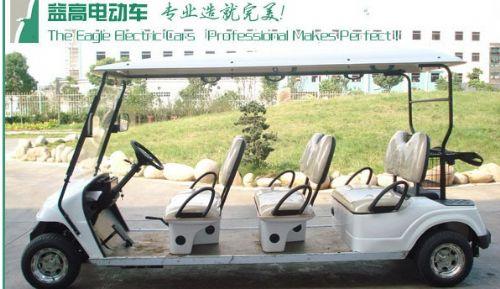 四川益高电动高尔夫球车,旅游观光代步车,楼盘看房车