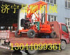 电线杆挖坑机 轮式挖坑机