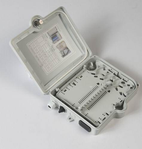 分纤箱 FTTH12芯分光箱光缆分纤箱