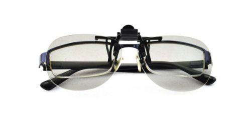 防刮花3D眼镜近视夹片,被动式偏光全国各大影院通用