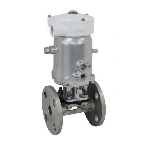 NDV阀门带定位器气动隔膜阀PNM1433N-*-15/150