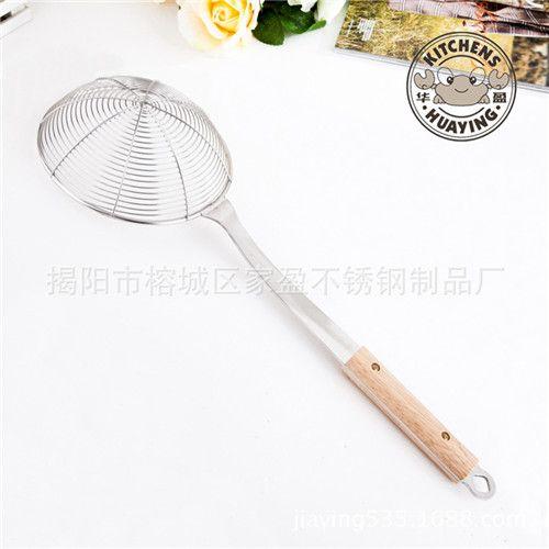 家居厨房小工具 不锈钢多用粉漏 油隔 滤油脂沥水器