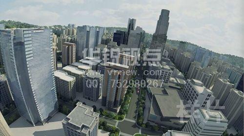 虚拟现实—城市规划