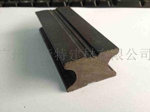 户外塑木地板实心龙骨40S25木塑地板安装配件龙骨 环保木塑材料