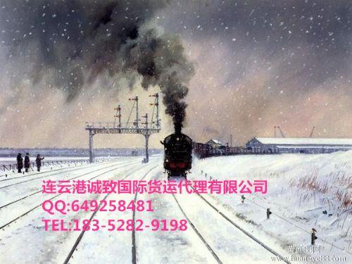 连云港至阿拉梅金、阿什哈巴德、克拉斯诺沃茨克等国际铁路运输代理