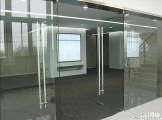 上海玻璃门皇冠地弹簧更换安装门拉手地锁51876265