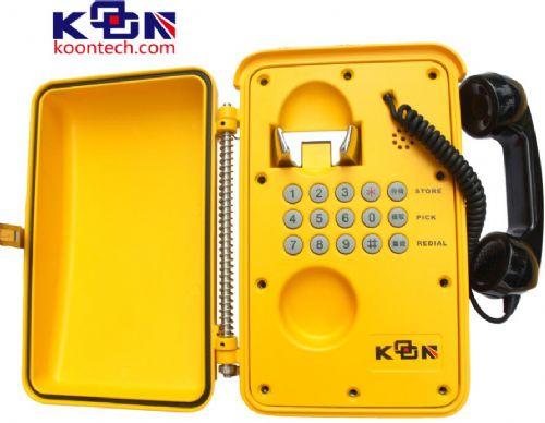 隧道专用应急电话机,核电站防水防潮电话,核电站专用应急电话机