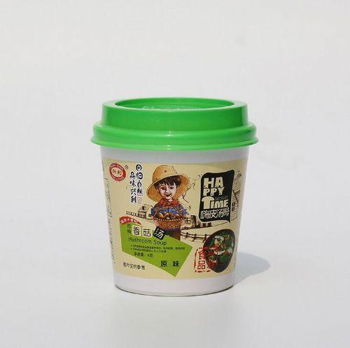 供嗨皮汤姆香菇汤汤料速食兴供兴香菇汤速溶汤鲜蔬汤一菇一汤荆楚风味