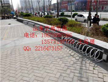 泰山停车场交通设施<18678897086>自行车摆放架企业