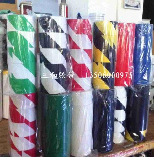 绿白 红白 黄黑 黑白 地面划线彩色胶带 警示胶带 标识胶带