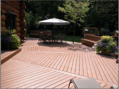 供应木塑地板、江苏凯利达塑木有限公司