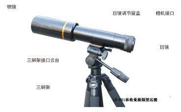 环境监测LB-801林格曼数码测烟望远镜价格林格曼黑度仪
