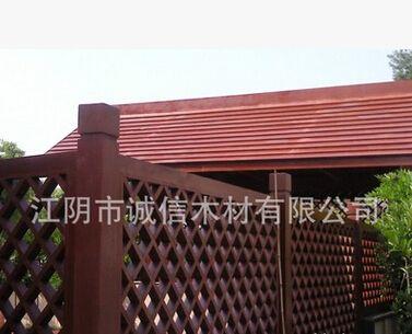 防腐木花架户外木地板