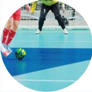 5人制足球场塑胶地板,博高室内足球场防滑运动地板