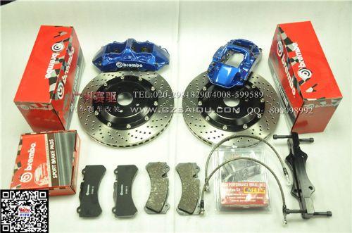 奥迪TT刹车改装专用bremboGT6刹车制动系统