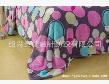 供应法莱绒婴童抱毯