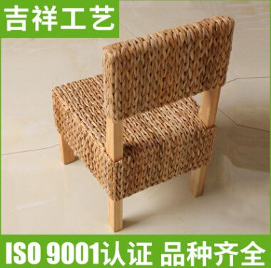 藤编织椅实木藤椅
