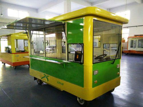 欧时利全新电动餐饮小吃车