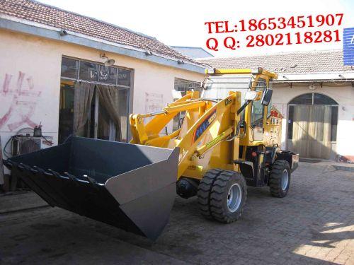 山西砂石料煤矿20专用铲车/小型装载机