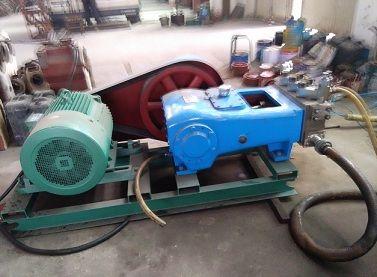 油田井口压力遥控 移动车载试压泵 遥控压力远程控制装置