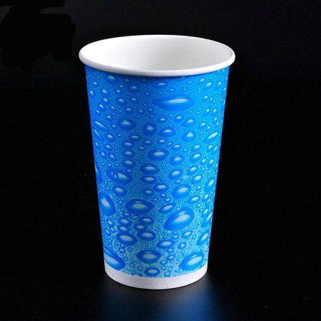厂家加工定制 环保一次性纸杯 9.5盎司试饮杯定制 可加印LOG