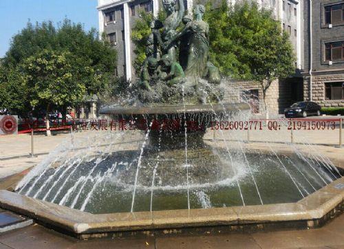 欧式喷水池,现代喷水池