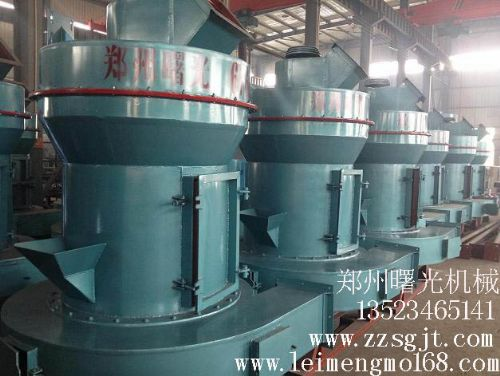 方解石雷蒙机排渣及配件精确度分析
