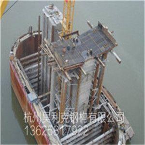 水下承台施工用双层钢套箱结构图