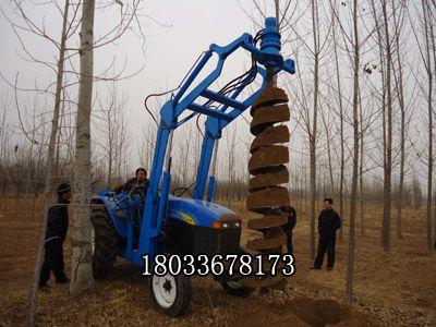 挖坑机 拖拉机旋挖钻孔机 太阳能支架挖坑机 大马力钻眼机