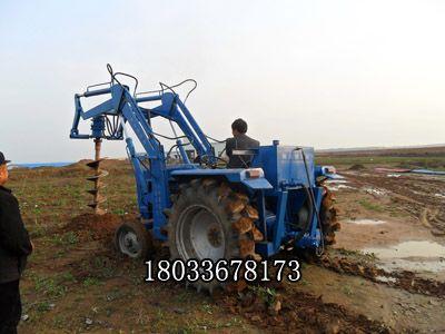 液压式电线杆挖坑机 线杆挖坑机 农用钻洞机挖坑 潜孔钻机