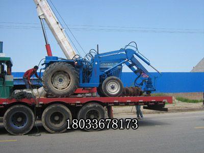 福田804 80马力四驱 拖拉机钻孔机 电杆挖坑机 拖拉机旋挖钻