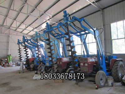 挖坑机 小型旋挖机 打桩挖坑机 拖拉机钻坑机