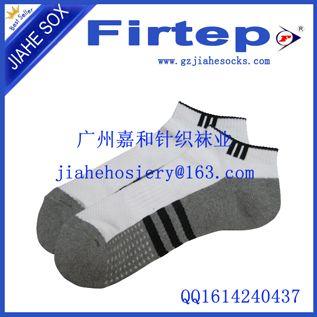 春秋款男士运动袜厂家直销 阴阳底运动袜
