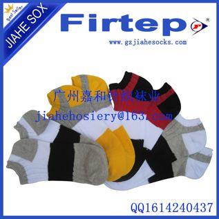 韩国船袜夏季男袜拼色短袜子 浅口男士船袜运动袜子批发