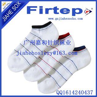 夏季男袜条纹袜子 男士浅口船袜运动袜子批发