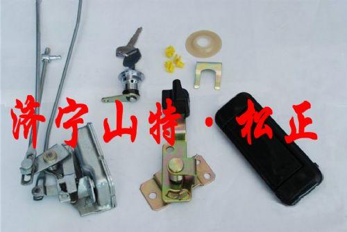酒泉挖机配件PC200/PC300-7挖机驾驶室门锁 门总成