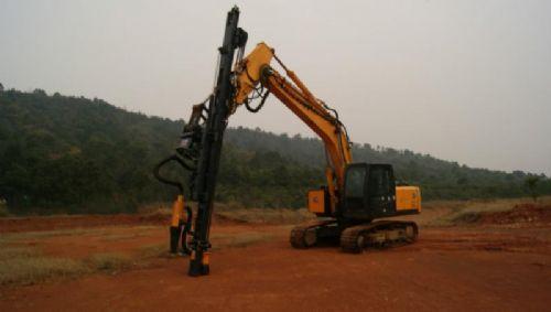 挖掘机改装液压凿岩机国产液压凿岩机