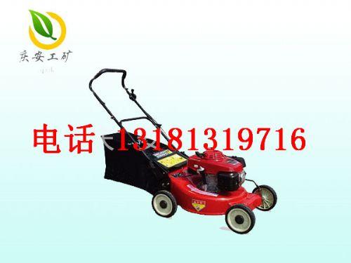 草坪割草机手推式 智能直流电动草坪机家用四轮驱动植保机械