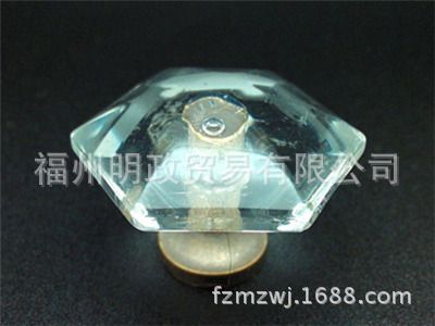 BLZP694水晶家具拉手 水晶玻璃拉手 水晶抽屉拉手