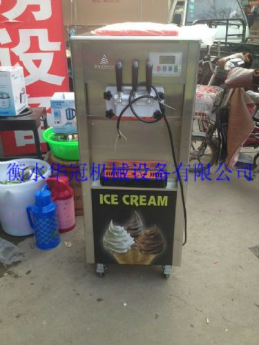 花样冰激凌机_台式软冰淇淋机_冰激凌粉