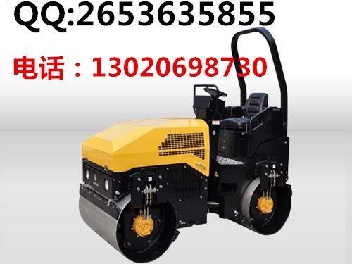 厂家生产座驾式压路机 双钢轮压道机 单轮震动压实机