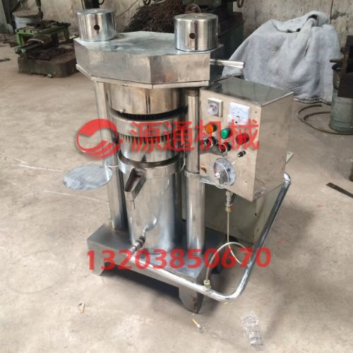液压榨油机专业生产厂家芝麻香油机操作流程