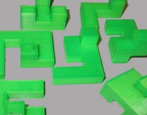 富品3D打印3D立体拼图拼板各种模型拼装益智创意玩具