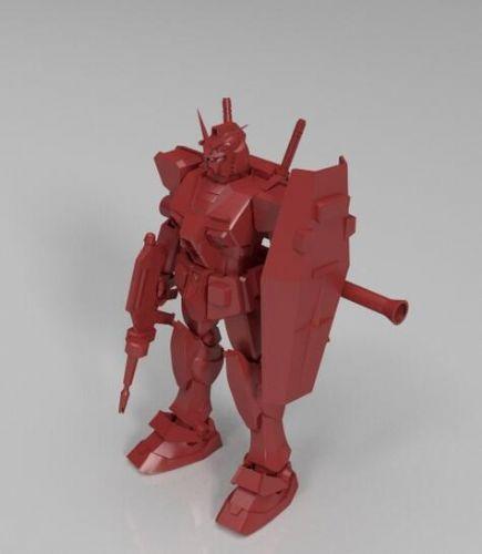 东莞3D打印儿童动漫  变形高达机器人模型玩具 动漫手办