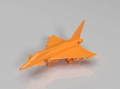 东莞3D打印 仿真滑行迷你战斗机口袋玩具批发儿童礼品 航空模型
