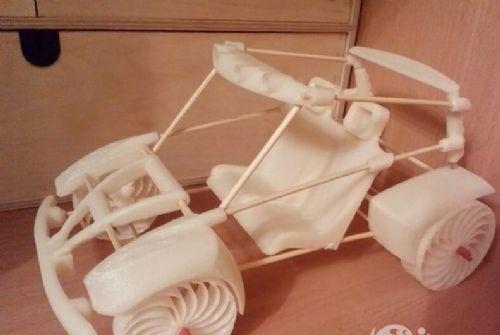 东莞3D打印 汽车超大耐摔悍马越野车儿童玩具车遥控车模型玩具